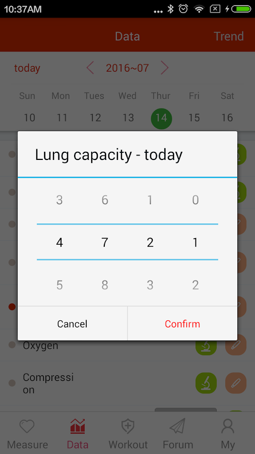 iCare Lung Capacity Pro Screenshot 4
