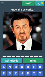 best quiz of celeb - screenshot