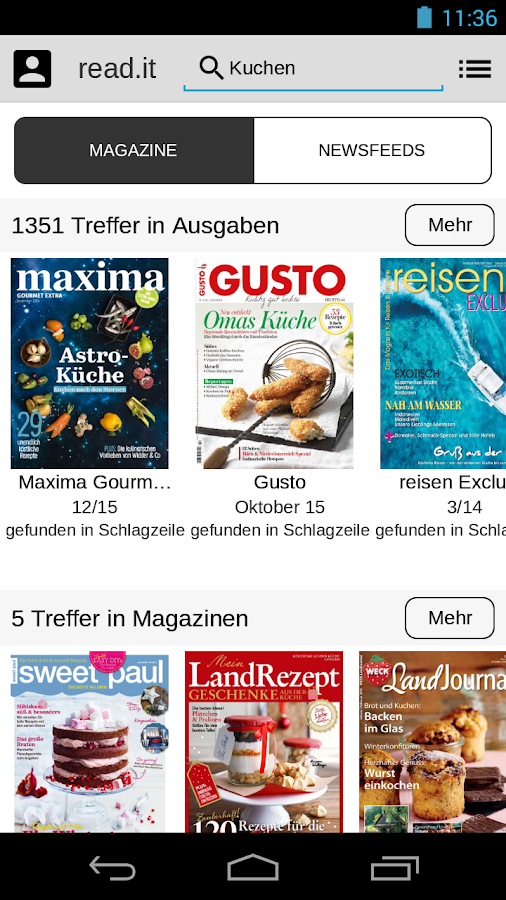 read.it - Einfach lesen Screenshot 4