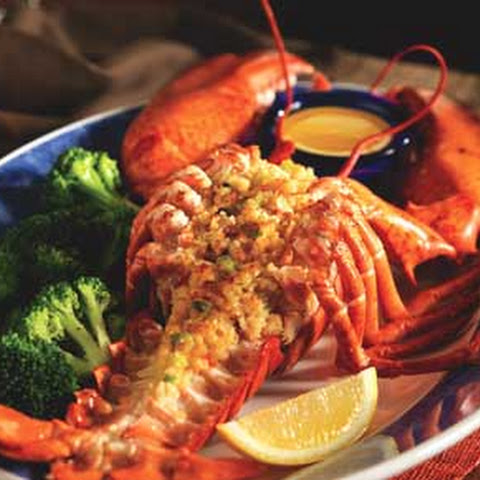 Roasted Maine Lobster with Crabmeat Stuffing