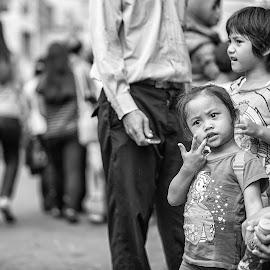 Look at Me by Aad S. Ahmad - Babies & Children Children Candids