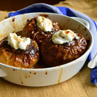 Halvah Stuffed Baked Apples and a Sweet Year