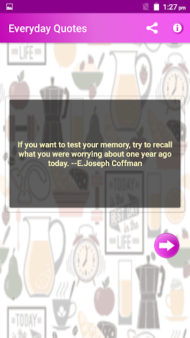 android Everyday Quotes & Status Screenshot 6