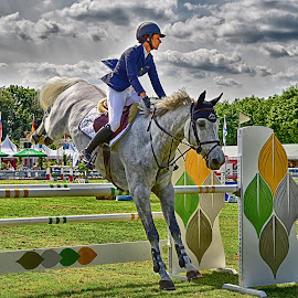 by Marco Bertamé - Sports & Fitness Other Sports ( jumping, réiser päerdsdeeg, horse, csi, objacle, luxembourg )