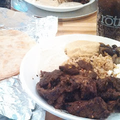 GF Pita and steak Roti!