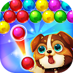 Bubble Deluxe Shooter Dog Pop Icon