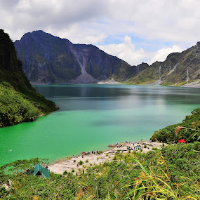 Mt. Pinatubo by Fresco Jr Linga - Landscapes Travel