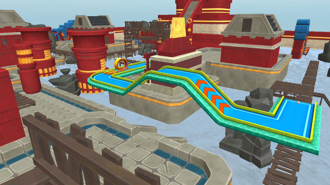 Mini Golf 3D City Stars Arcade Screenshot 2