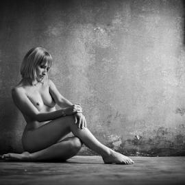 Memories by Reto Heiz - Nudes & Boudoir Artistic Nude ( nude, black and white, nudeart, romantic, female nude, sensual )