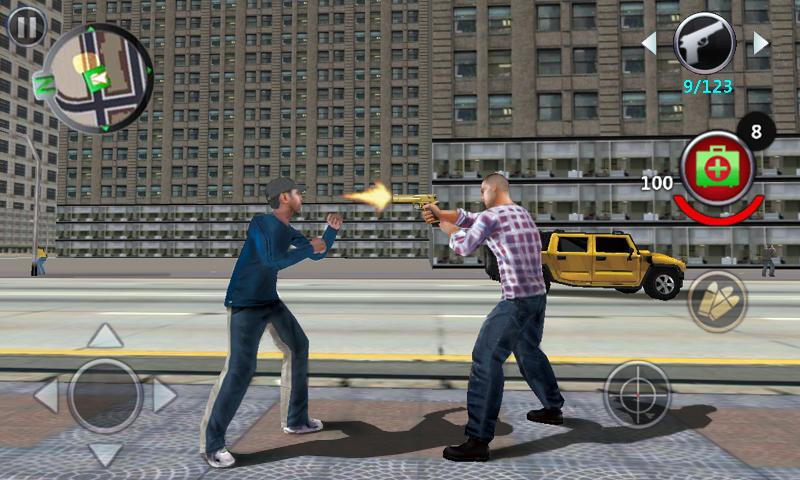 Grand Gangsters 3D Screenshot 2