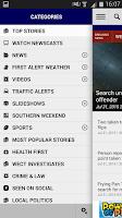 Screenshot of WECT 6 Local News