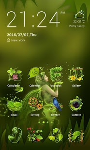 Free Download Glowworm - ZERO Launcher APK for Blackberry