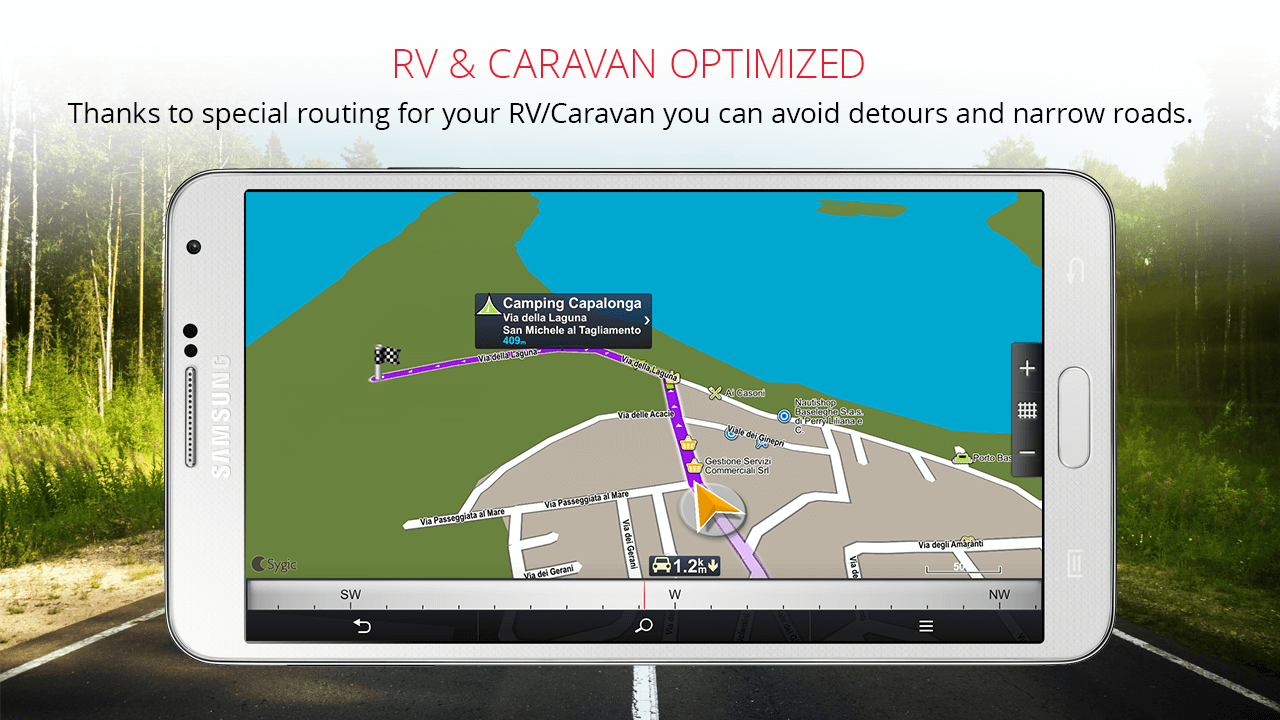 Sygic Truck GPS Navigation Screenshot 6