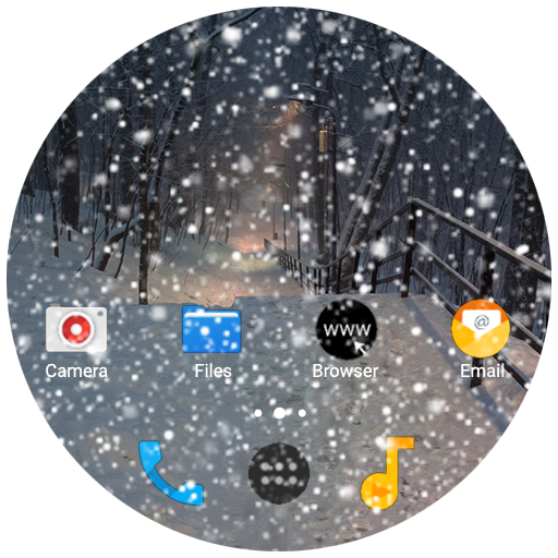 Snow on the screen APK Cracked Download