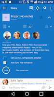 Screenshot of Intellinote Team Communication