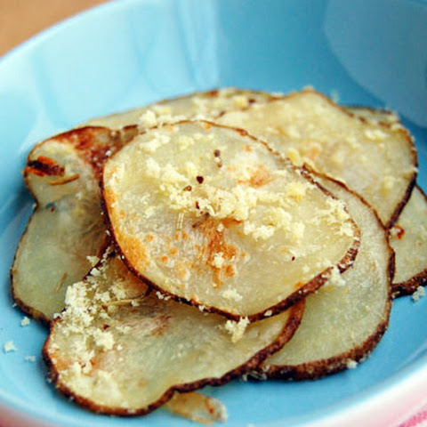 Flavored Homemade Baked Potato Chips