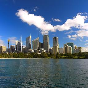 Sydney by Scott Pirrie - City,  Street & Park  Skylines