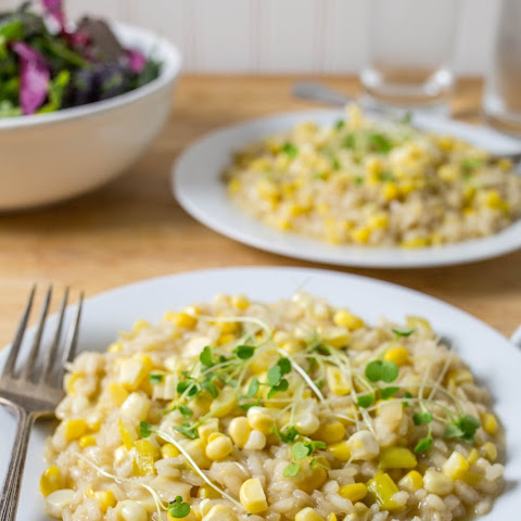 Sweet Corn Risotto