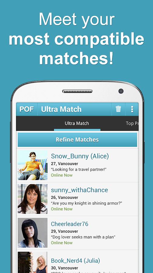 Pof dating app download