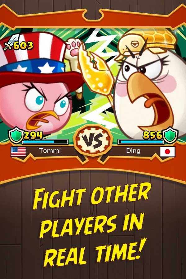 Angry Birds Fight! RPG Puzzle Screenshot 2