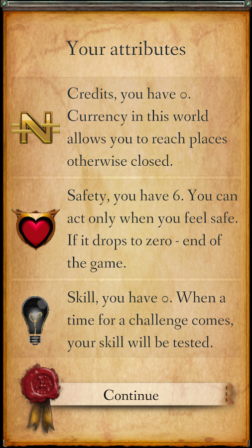 RPG Module: A game of choices Screenshot 5