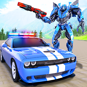 Real Police Car Chase Robot Transforming For PC / Windows 7/8/10 / Mac – Free Download