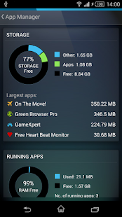 AVG Cleaner for Xperia™ for Lollipop - Android 5.0