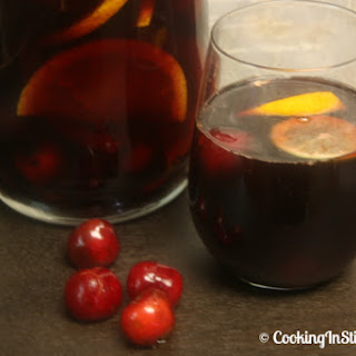 Cherry Wine Sangria Recipes