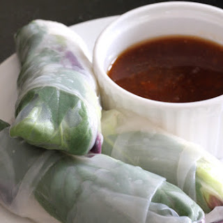 Summer Rolls + Dipping Sauce