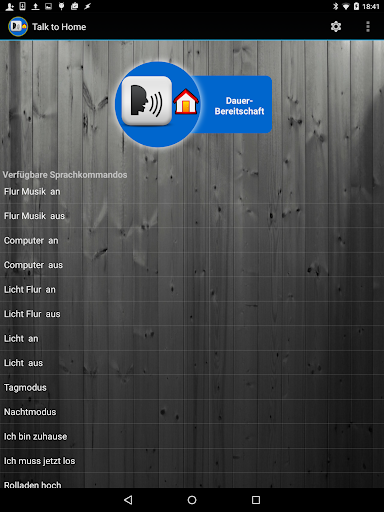 Talk to HOME - screenshot