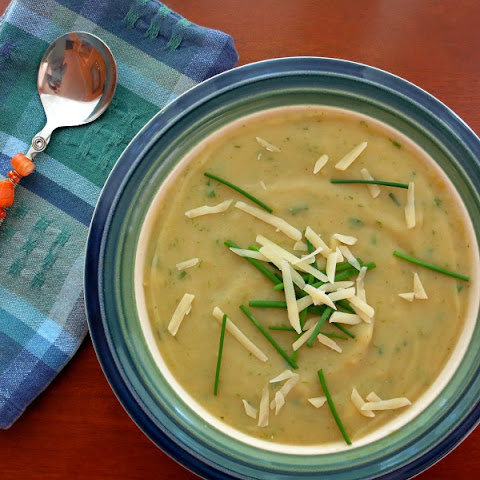 Potato Ramp Soup