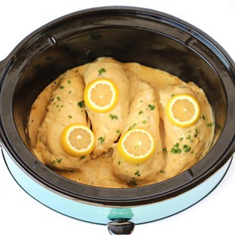 Crockpot Garlic and Lemon Chicken