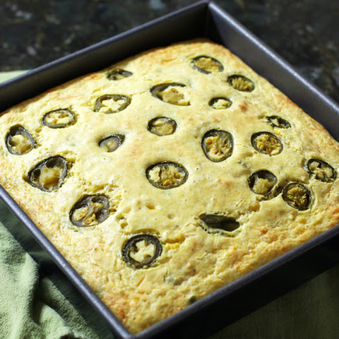 Jalapeno Cornbread with Cheese