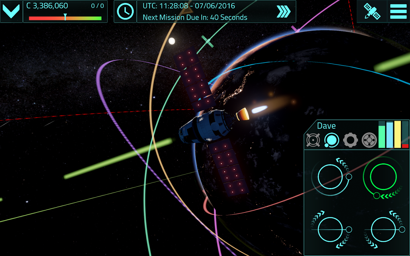 Satellite Command Screenshot 4
