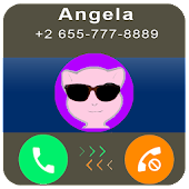 Download Android Game Call From Talking pet an gela for Samsung