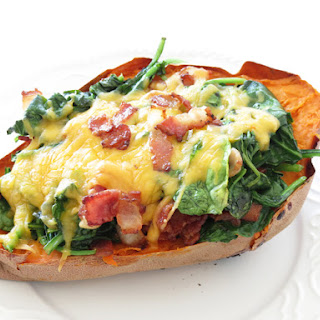 Loaded Sweet Potato