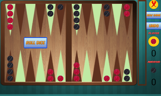 Backgammon - screenshot