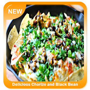 Download Delicious Chorizo and Black Bean Nachos for Windows Phone