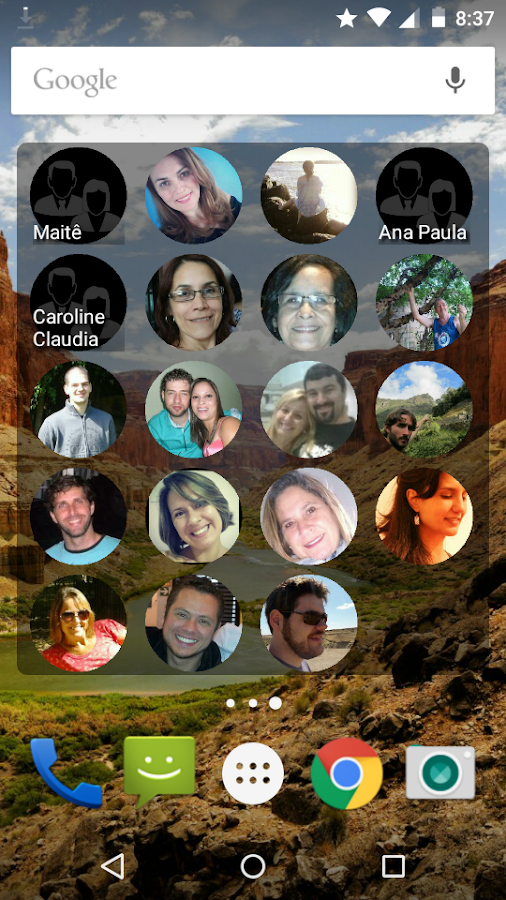 Contacts Widget Screenshot 0