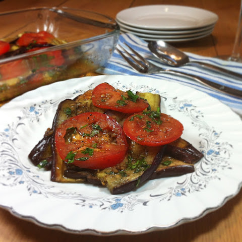 Grilled Eggplant And Tomato Salad Recipes | Yummly