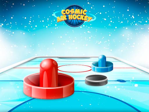 Cosmic Air Hockey - screenshot