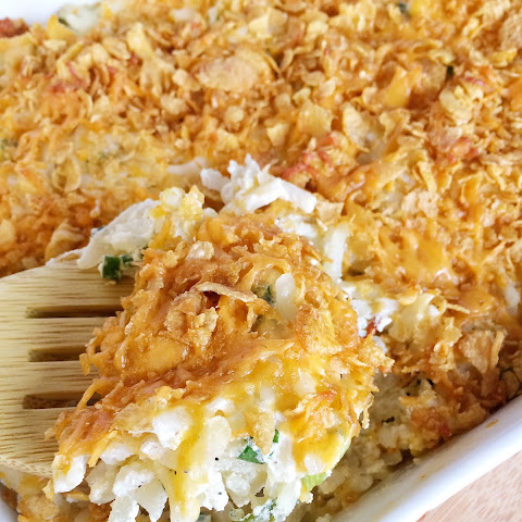 Cheesy Shredded Potato Casserole