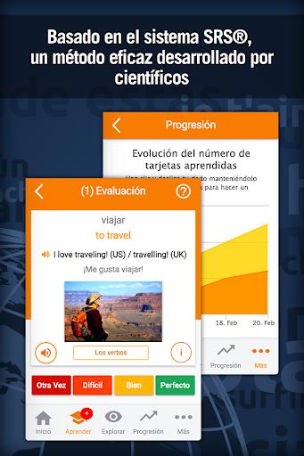 Aprender inglés gratis : vocabulario para hablar screenshot 2