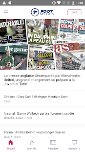 Foot Mercato : transferts, résultats, news, live for pc
