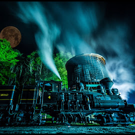 Night Train by James Eickman - Digital Art Things