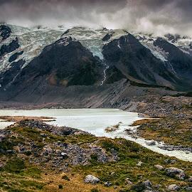 Glacier Land by Stanley P. - Landscapes Mountains & Hills