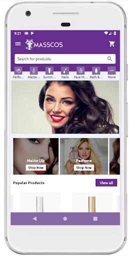 MassCos Online Shopping App screenshot 1