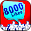 8000 likes for Fb Liker tips