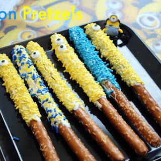 Minion Pretzel Rods