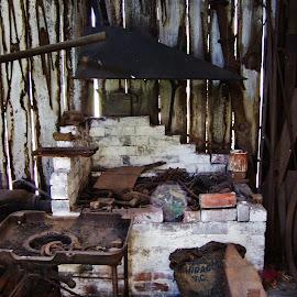Blacksmiths Workshop by Sarah Harding - Novices Only Objects & Still Life ( shop, still life, novices only, antique, historic )